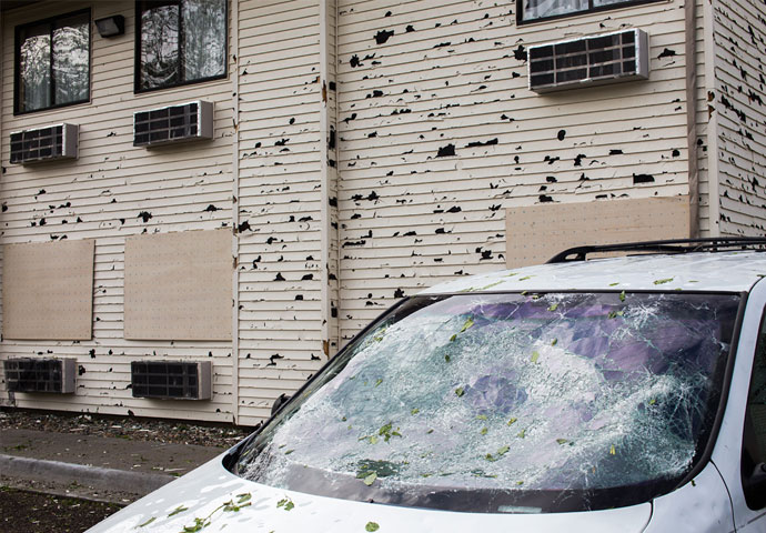 Hail Damage Repair in Detroit & Southeast Michigan